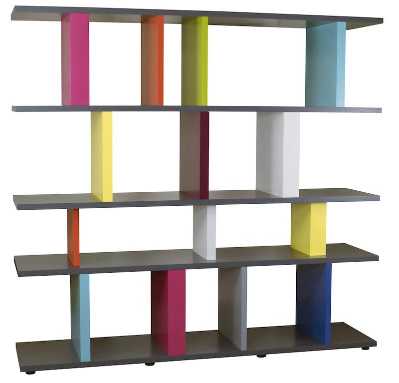 Console table basse t te de lit et tout le mobilier color les pieds sur la - Bibliotheque meuble habitat ...